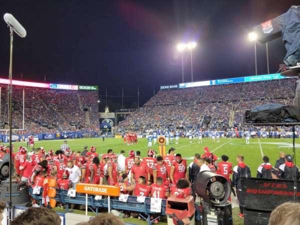 LaVell Edwards Stadium, section: 5, row: 4, seat: 33