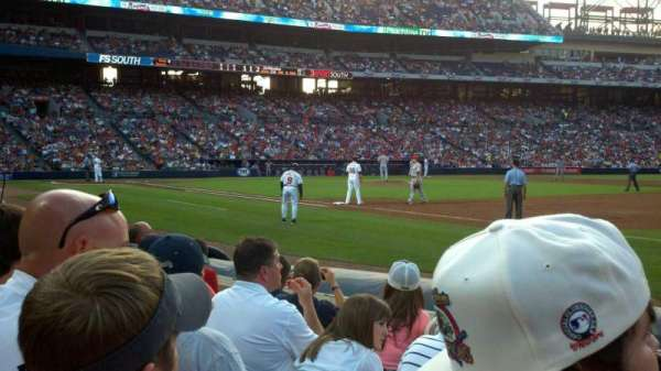Turner Field, section: 119L, row: 6, seat: 102