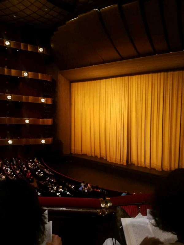 David H. Koch Theater, section: 2 ring, row: B, seat: 28