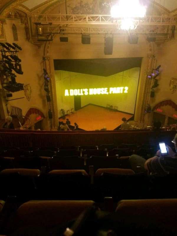 John Golden Theatre, section: Rear Mezzanine LC, row: f, seat: 113