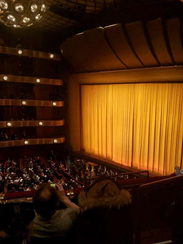 David H. Koch Theater, section: 3rd Ring, row: C, seat: 38