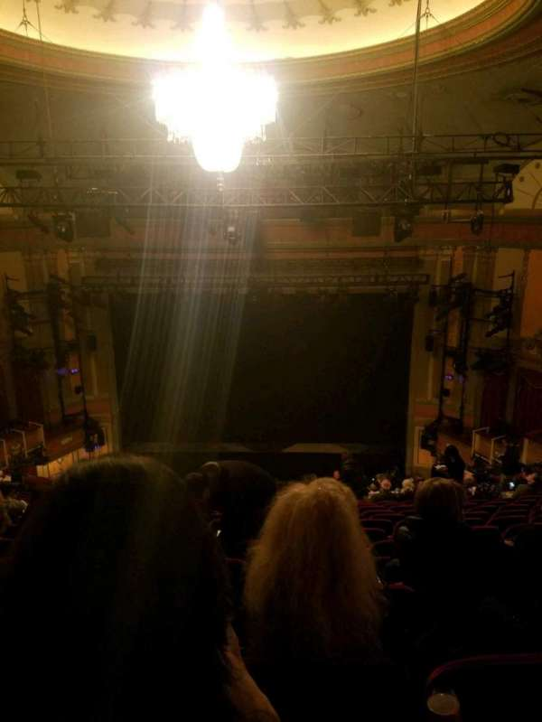 Neil Simon Theatre, section: Mezzanine C, row: P, seat: 116