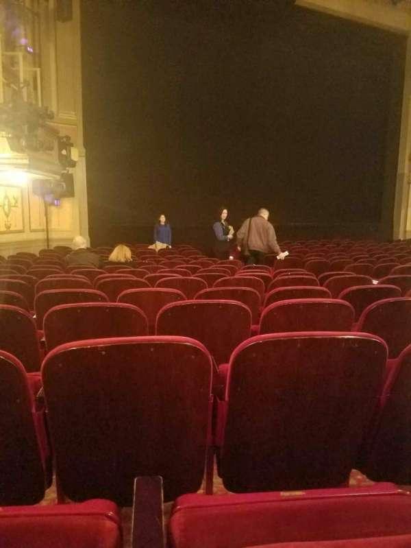 Neil Simon Theatre, section: Orchestra L, row: o, seat: 15