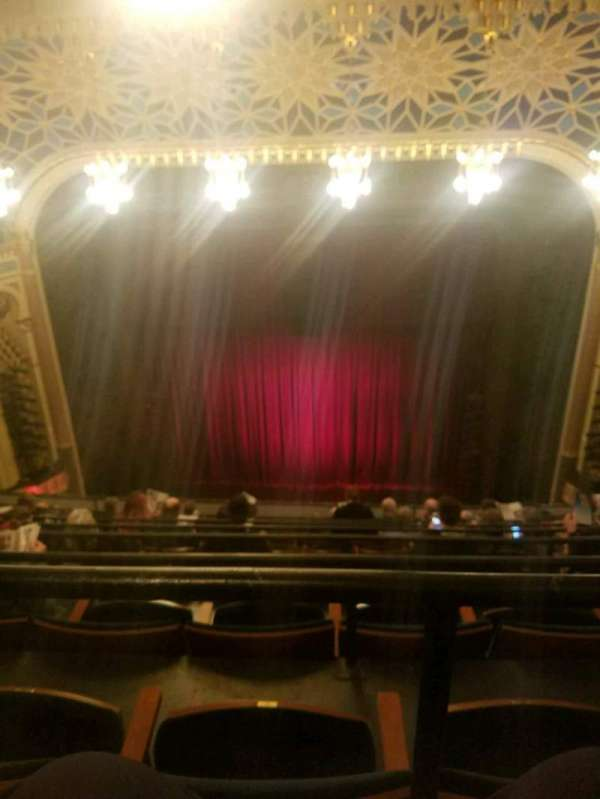 New York City Center, section: Balcony, row: H, seat: 132
