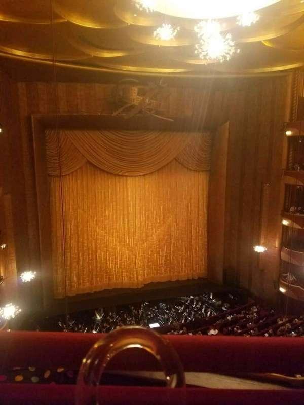 Metropolitan Opera House - Lincoln Center, section: Balcony, row: A, seat: 3