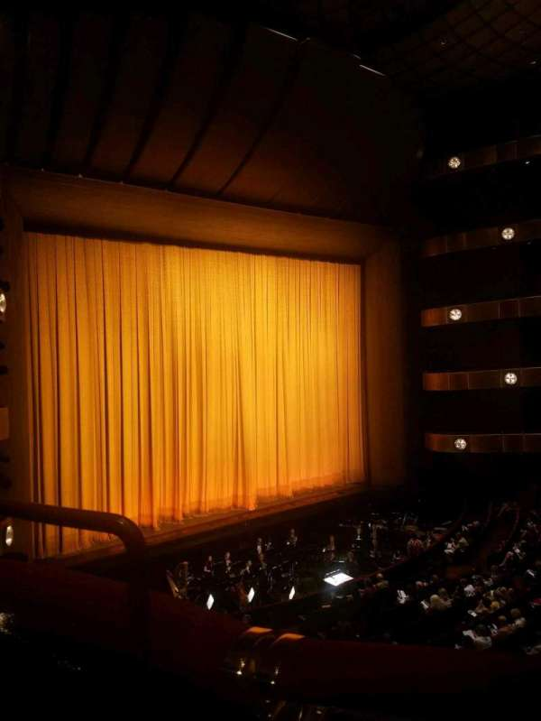 David H. Koch Theater, section: 2nd ring, row: A, seat: 35