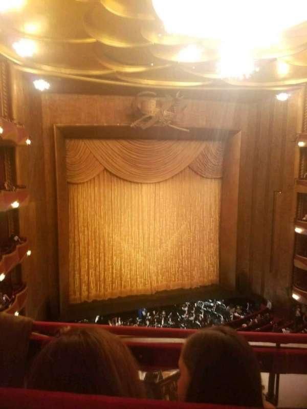 Metropolitan Opera House - Lincoln Center, section: Balcony, row: B, seat: 9