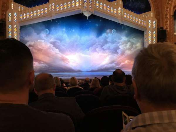 Eugene O'Neill Theatre, section: Orchestra Center, row: K, seat: 107