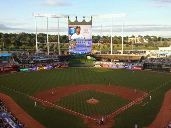 Kauffman Stadium Section 419 Home Of Kansas City Royals