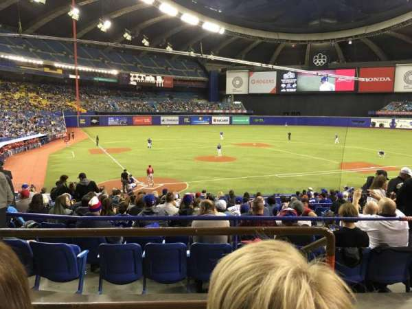 Olympic Stadium, Montreal, section: 103, row: C, seat: 13
