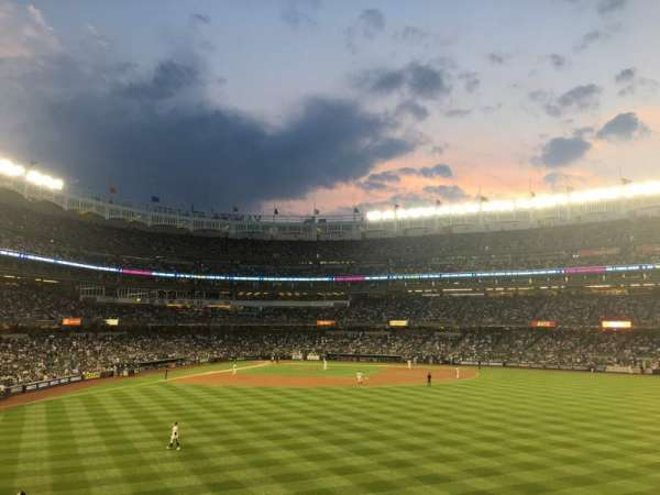 Yankee Stadium, section: 203, row: 5, seat: 2