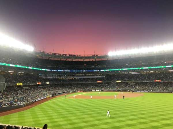 Yankee Stadium, section: 203, row: 13, seat: 21