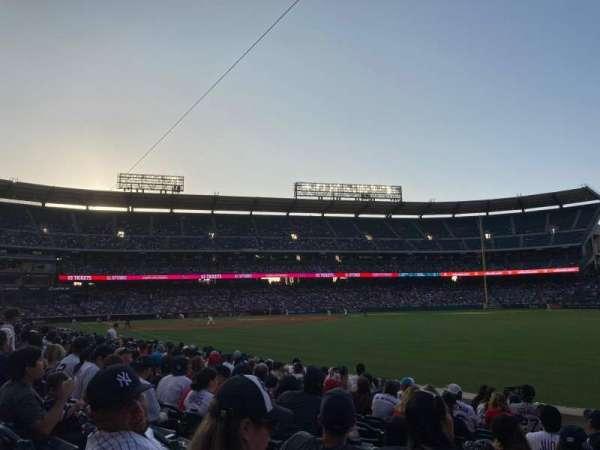 Angel Stadium, section: 129, row: K, seat: 5
