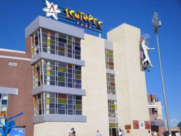 Isotopes Park, section: Outside