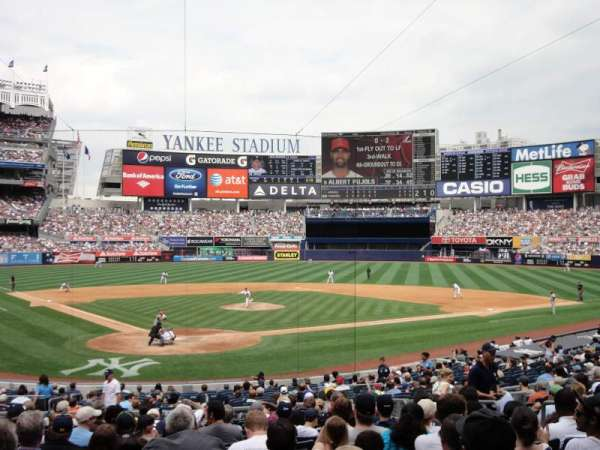 Yankee Stadium, section: 119, row: 26, seat: 8