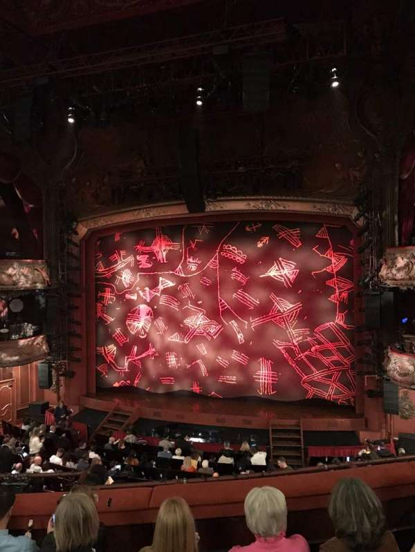 Lyceum Theatre (West End), section: Royal Circle, row: E, seat: 14