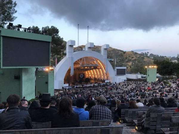 Hollywood Bowl, section: K3, row: 18, seat: 3