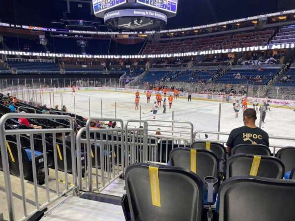 Amway Center, section: 103, row: 16, seat: 17