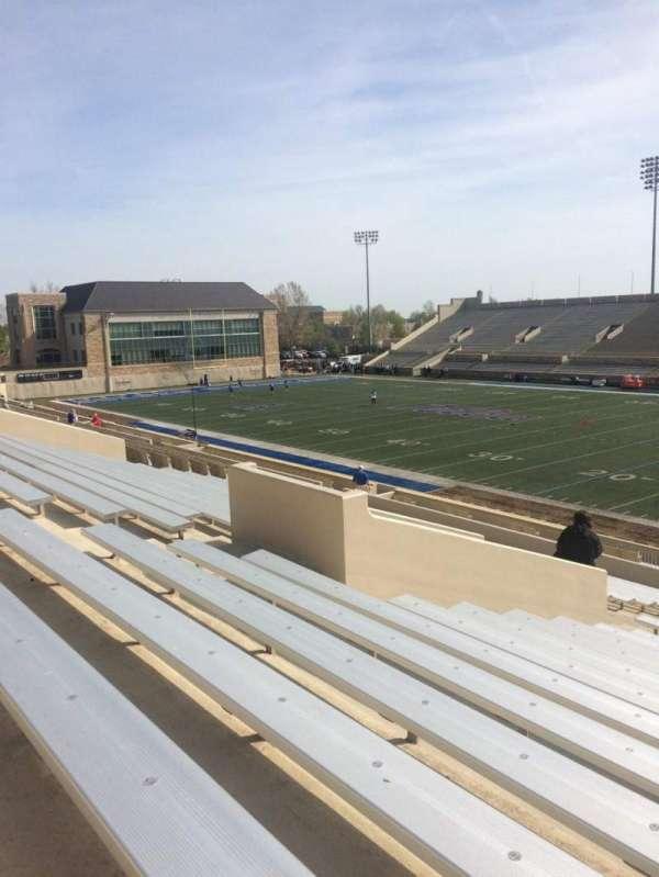 H. A. Chapman Stadium, section: 114, row: 37, seat: 14
