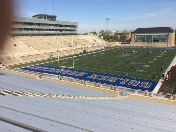 H. A. Chapman Stadium, section: 109, row: 46, seat: 26