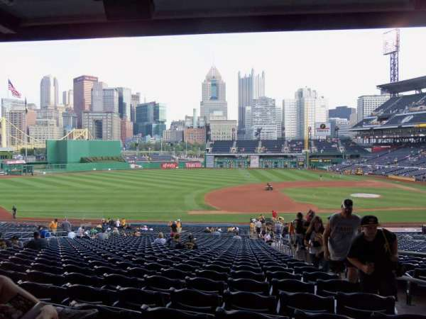 PNC Park, section: 125, row: GG, seat: 3