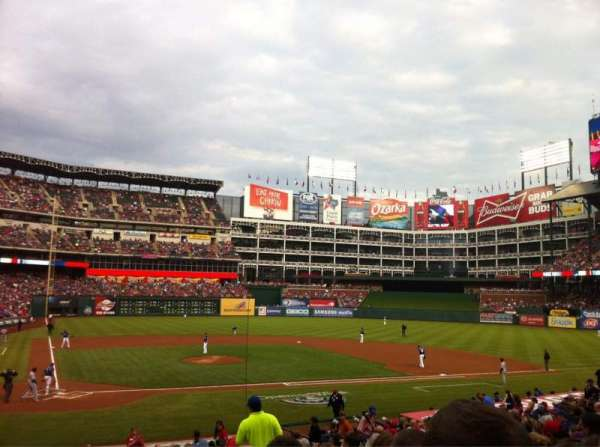Globe Life Park in Arlington, section: 30, row: 22, seat: 10