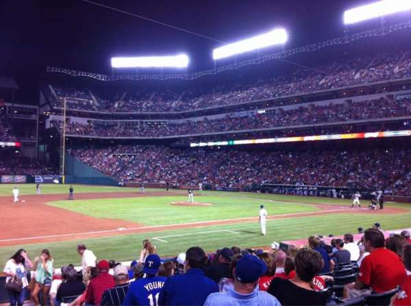 Globe Life Park in Arlington, section: 17, row: 13, seat: 8