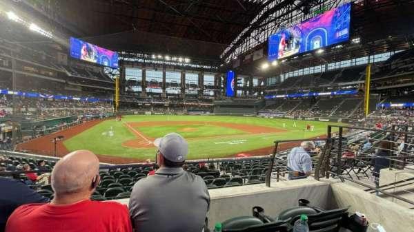 Globe Life Field, section: 15, row: 10, seat: 7