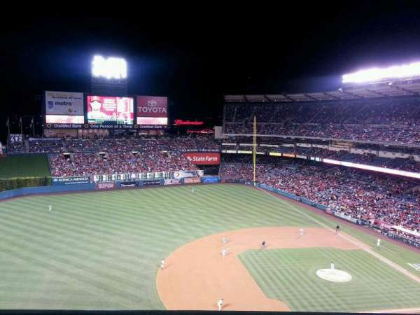 Angel Stadium, section: V512, row: A, seat: 10