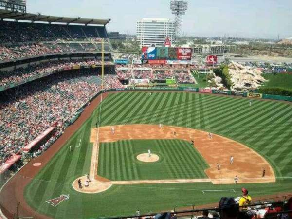 Angel Stadium, section: V526