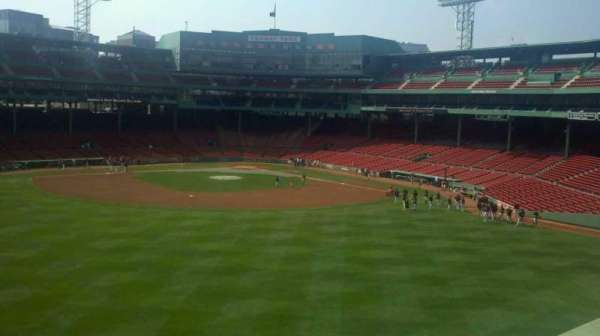 Fenway Park, section: Green Monster 10, row: 1, seat: 1