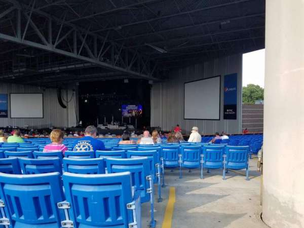 PNC Music Pavilion, section: 5, row: Y, seat: 3