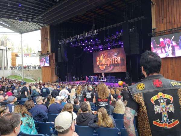 Merriweather Post Pavilion, section: 201, row: S, seat: 23