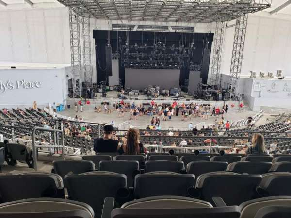 Daily's Place, section: C5, row: F, seat: 22