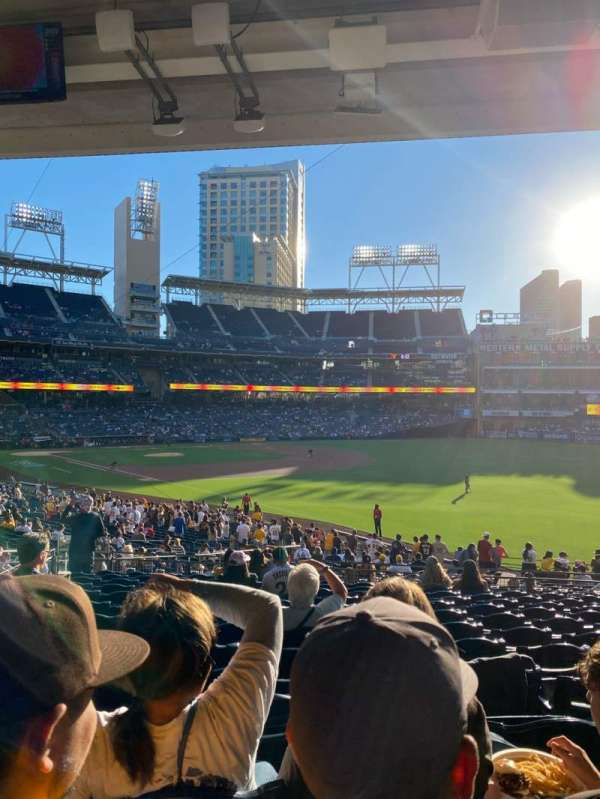 PETCO Park, section: 121, row: 38, seat: 12