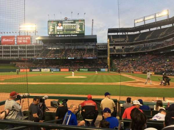 Globe Life Park in Arlington, section: 21, row: 5, seat: 1