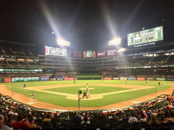 Globe Life Park in Arlington, section: 26, row: 20, seat: 9