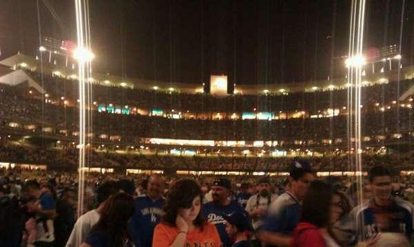 Dodger Stadium, section: Field