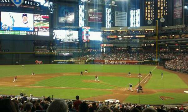 Chase Field, section: 125, row: 38, seat: 13
