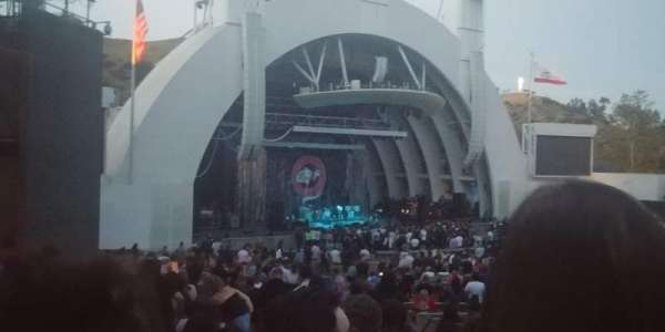 Hollywood Bowl, section: E, row: 16, seat: 7