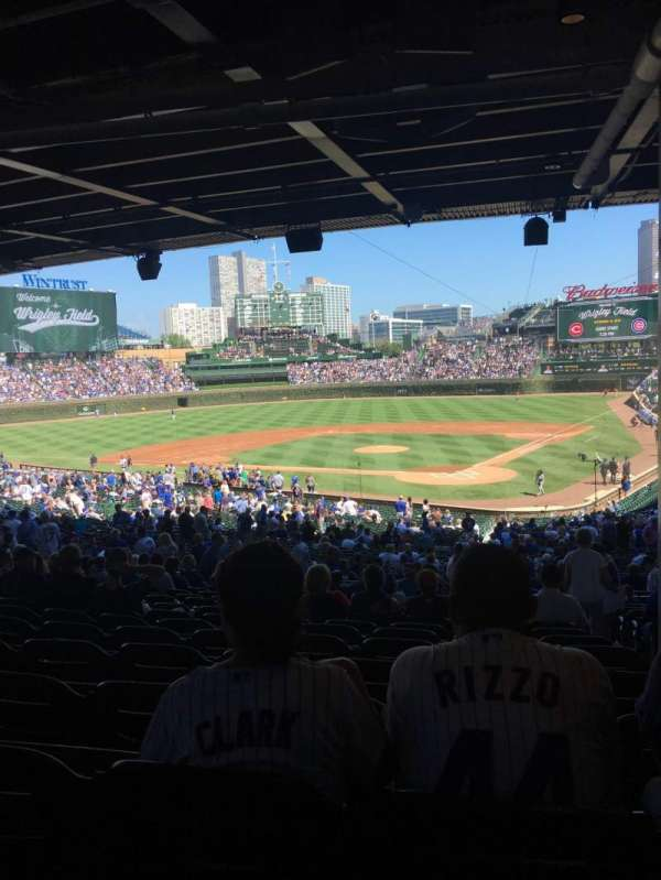 Wrigley Field, section: 219, row: 15, seat: 102