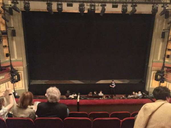Neil Simon Theatre, section: Front Mezzanine C, row: E, seat: 111
