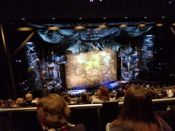 Gershwin Theatre, section: Lmezz, row: G, seat: 17