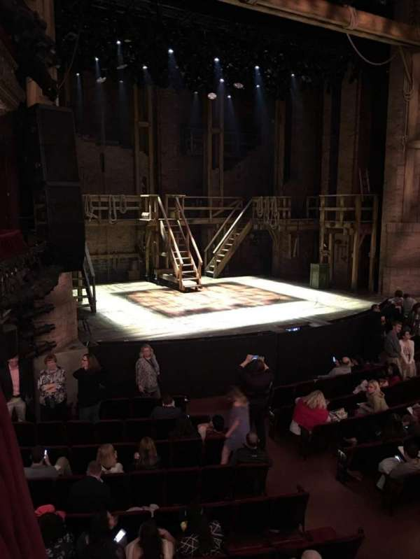 CIBC Theatre, section: Dress Circle Box 1, row: BX1, seat: 207