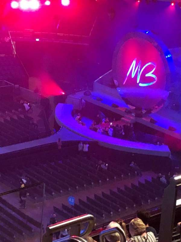 The O2 Arena, section: 418, row: K, seat: 871