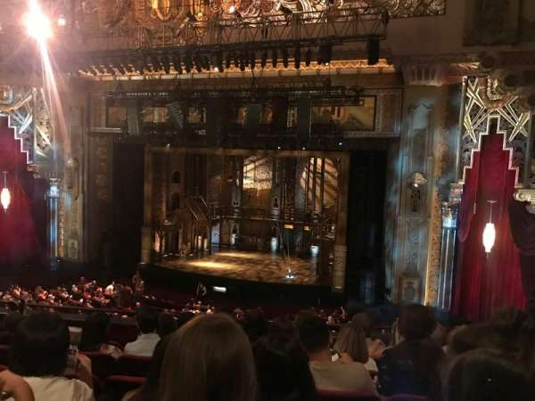 Hollywood Pantages Theatre, section: Mezzanine RC, row: F, seat: 211