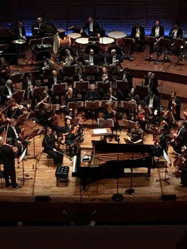 Davies Symphony Hall, section: 2nd Tier EE, row: B, seat: 107