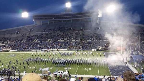 Liberty Bowl Memorial Stadium, section: 101, row: 54, seat: 17