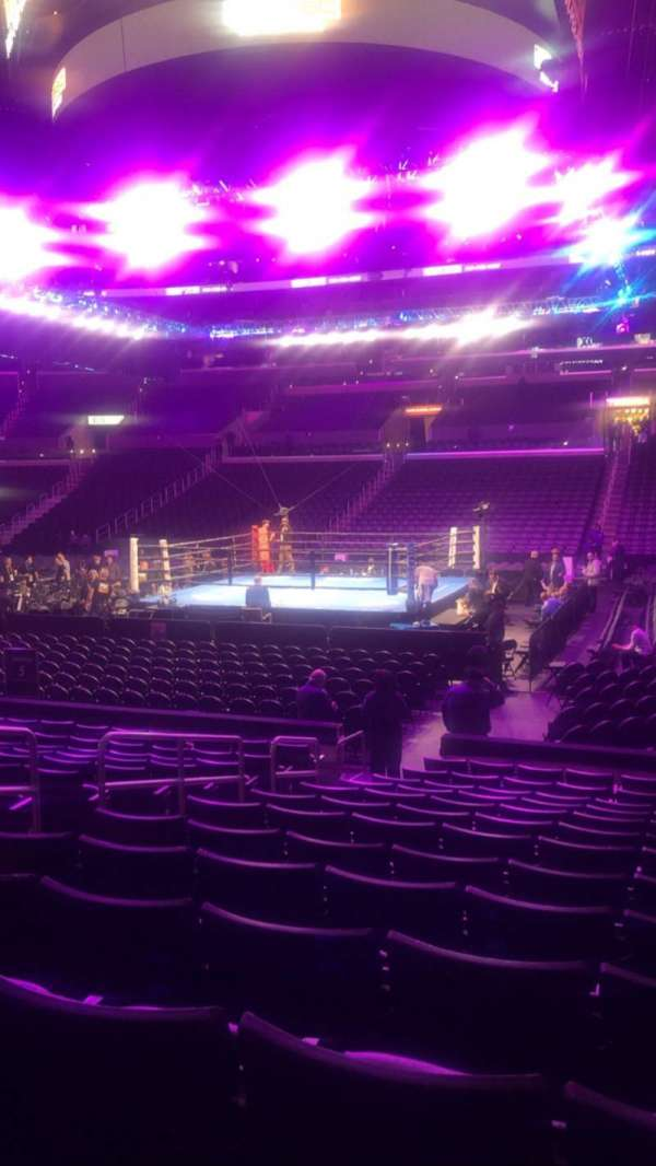 Staples Center, section: 110, row: 13, seat: 16