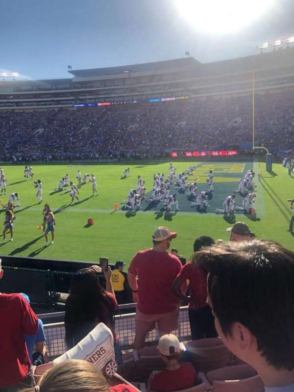 Rose Bowl, section: 8-L, row: 11, seat: 7